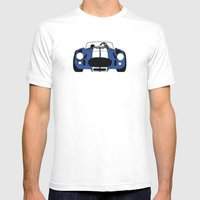 Shelby Cobra Mens Fitted Tee White SMALL