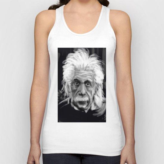 Speed Portraits: Einstein Unisex Tank Top