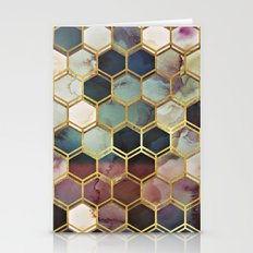 RUGGED MARBLE  Stationery Cards