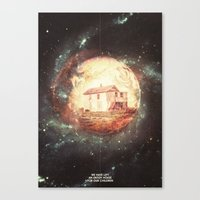 An Untidy House Canvas Print