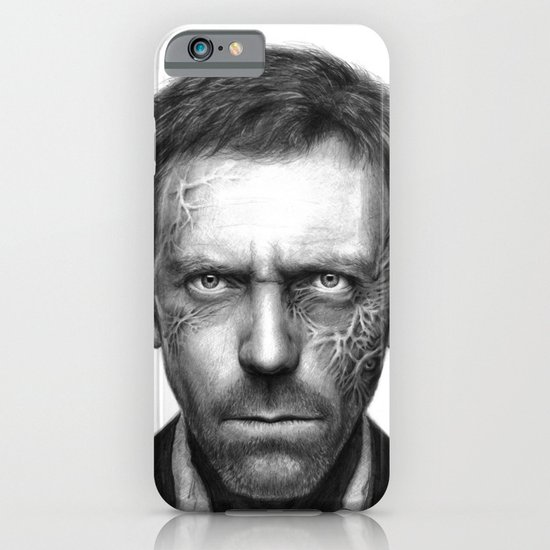 Hugh Laurie iPhone & iPod Case