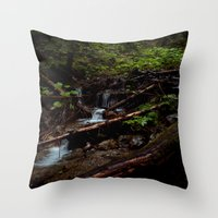 The Brook Throw Pillow
