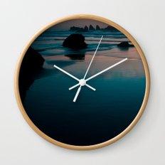 bandon beach blues. Wall Clock