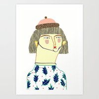 Women. fashion, fashion illustration, fashion print, fashion art, pattern, people,  Art Print