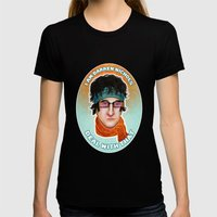 I am Darren Nichols. Deal with THAT. Womens Fitted Tee Black SMALL
