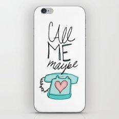 Call Me Maybe iPhone & iPod Skin