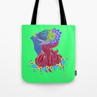 Lady Of Death Tote Bag