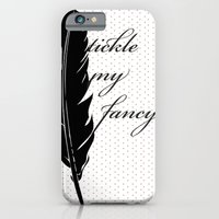 iPhone & iPod Case featuring Tickle My Fancy.. by Junkyard Doll