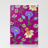 Mixed Floral Garden Stationery Cards