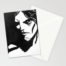 Human eye look beyond Stationery Cards