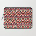 Ikat Cat Laptop Sleeve