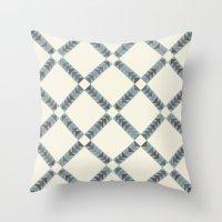 Navajo Winter Pattern Throw Pillow