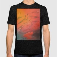 Head In The Clouds Mens Fitted Tee Tri-Black X-LARGE