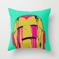 Throw Pillow featuring Smack! by Boneface