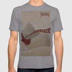 Journey Mens Fitted Tee Athletic Grey SMALL
