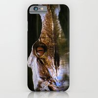 iPhone & iPod Case featuring Croc by Julie
