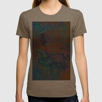 Natural Color Womens Fitted Tee Tri-Coffee SMALL