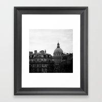 FRENCH REPUBLIC'S PANTHE… Framed Art Print