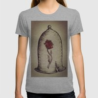 The Rose And The Bell Womens Fitted Tee Athletic Grey SMALL