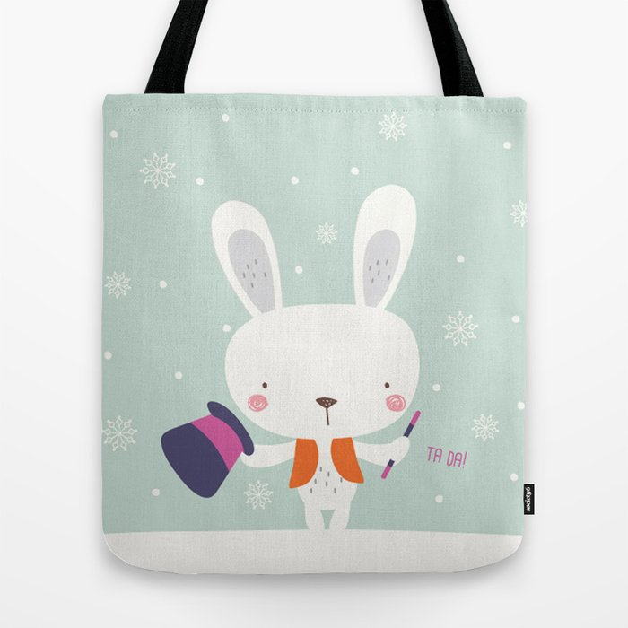 MAGIC BUNNY Tote Bag