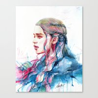 Dragonqueen Canvas Print