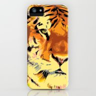 iPhone & iPod Case featuring My Tiger by Nuam