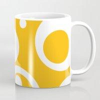 Circles Dots Bubbles :: Mango Mug