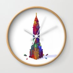 Chrysler Building Wall Clock