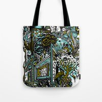 The Castle Of Doom And S… Tote Bag
