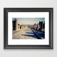 Faded Memories: The Stre… Framed Art Print