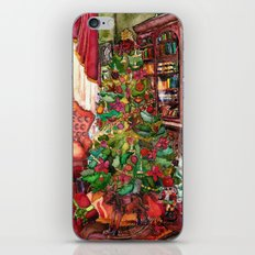 Bibliophile's Christmas iPhone & iPod Skin