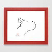 Cat 1 Framed Art Print