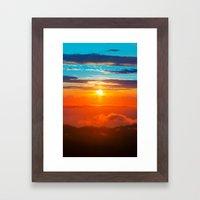 Tramonto  Framed Art Print