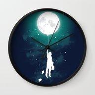 Wall Clock featuring Burn The Midnight Oil  by Budi Kwan