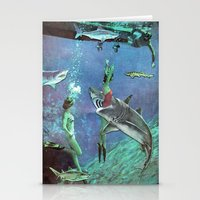 Sharks Stationery Cards