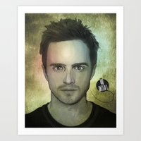 Jesse Pinkman, Yo Bitch! Art Print
