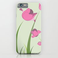 iPhone & iPod Case featuring Tulips by Miss Baker