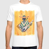 Boba Bandito Mens Fitted Tee White SMALL