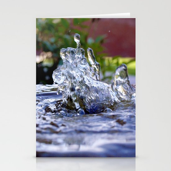 Dancing Water Stationery Card