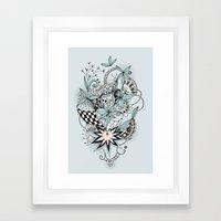 Soft Summer Framed Art Print