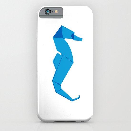 Origami Seahorse iPhone & iPod Case