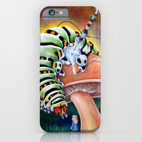Smoking Caterpillar - Alice in Wonderland iPhone & iPod Case