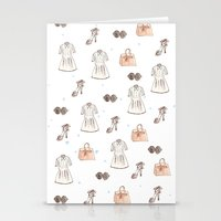 Fashionista  Stationery Cards