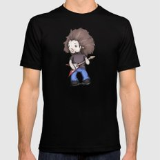 Plushio Sanchez Mens Fitted Tee Black SMALL