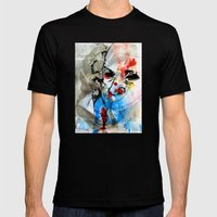 The Face Of The Saint Mens Fitted Tee Black SMALL