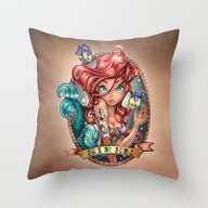 Throw Pillow featuring SIREN by Tim Shumate