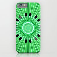 Digital art kiwi iPhone 6 Slim Case
