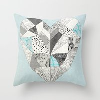CHEMICAL REACTION  Throw Pillow