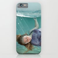mermaid iPhone & iPod Cases featuring Mermaid  by Mary Kilbreath
