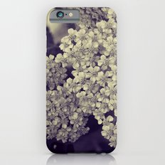 Nature in Black and White -- Botanical Still Life -- Yarrow Flowers Slim Case iPhone 6s